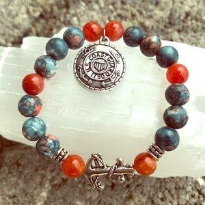 Jewelry - Coastguard Custom Jade and Agate